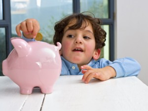 kid piggy bank